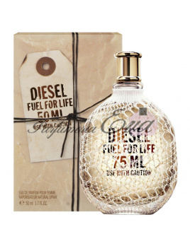 Diesel Fuel for life Pour Femme, Parfumovaná voda 50ml