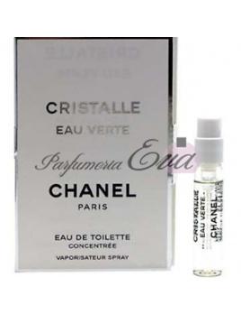 Chanel Cristalle Eau Verte, vzorka vône