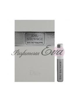 Christian Dior Eau Sauvage, vzorka vône