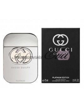 Gucci Guilty Woman Platinum Edition, Toaletná voda 75ml - tester
