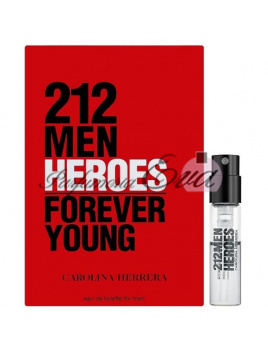 Carolina Herrera 212 Men Heroes Forever Young, Vzorka vône EDT