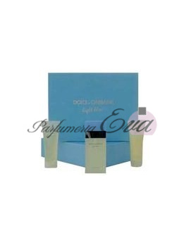 Dolce & Gabbana Light Blue, Edt 100ml + 100ml tělové mléko + 100ml sprchový gel