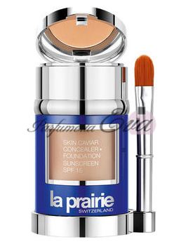 La Prairie Skin Caviar Collection tekutý make-up Porcelaine Blush SPF15 30 ml