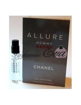 Chanel Allure Homme Sport Eau Extreme, vzorka vône