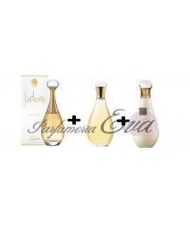 Christian Dior Jadore, EDP 75ml + 150ml parfumovaný olej + 150ml telové mlieko