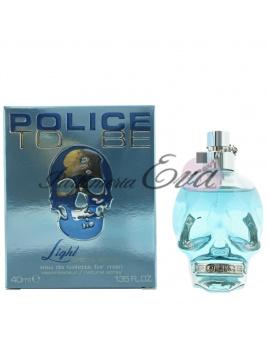 Police To Be light, Toaletná voda 40ml