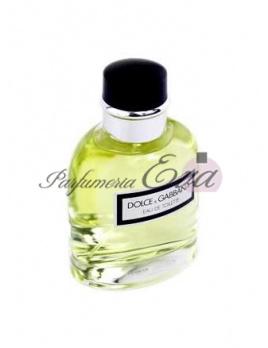 Dolce & Gabbana Pour Homme, Toaletná voda 125ml - Tester