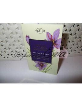 Acqua Colonia Saffron & Iris, Vzorka vône