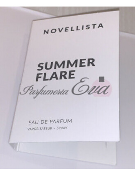 Novellista Summer Flare, vzorka vône