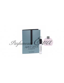 Lanvin Avant Garde, Vzorka vône