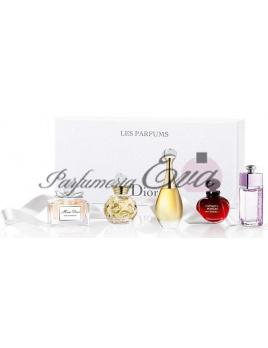Christian Dior Mini set - 5x miniatúrka - Dolce Vita Edt 5ml + Miss Dior Edp 5ml + Jadore Edp 5ml + Hypnotic Poison Eau Sensuelle Edt 5ml + Dior Addict to life Edt 5ml