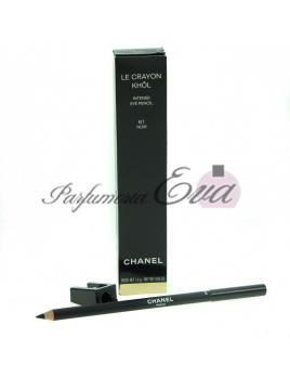 Chanel Le Crayon Khol ceruzka na oči odtieň 61 Noir (Intense Eye Pencil) 1,4 g