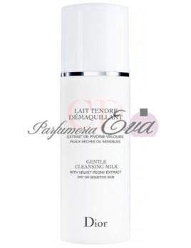 Christian Dior Gentle Cleansing Milk, Čistiace mlieko - 200ml, Suchá a citlivá pleť