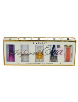 Givenchy Mini set, 4ml Edp Very Iresistible Sensual + 5ml edt Dahlia Noir + 4ml edt Amarige + 4ml edp Ange ou Demon + 5ml edp Organza