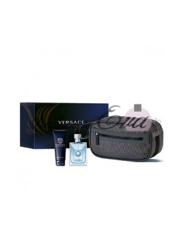Versace Pour Homme, Edt 100ml +100ml sprchový gel + kosmetická taška