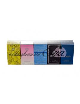 Versace Mini Set, Edt 5ml Man Eau Fraiche + Edt 5ml Bright Crystal + Edt 5ml Versce Pour Homme + Edt 5ml Yellow Diamond + Edt 5ml Eros