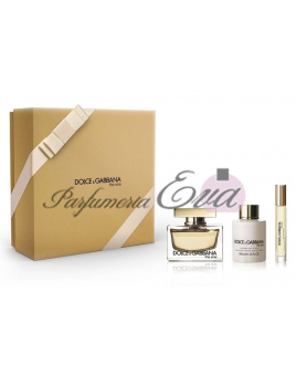 Dolce & Gabbana The One, Edp 75ml + 7,4ml + 100ml tělové mléko