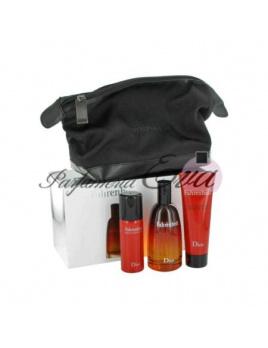Christian Dior Fahrenheit, Edt 100ml + 50ml deodorant + 75ml sprchový gel + kosmetická taška
