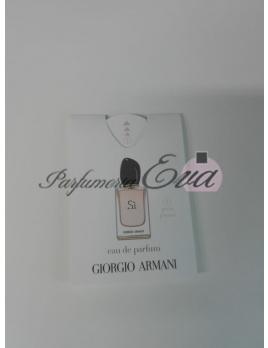 Giorgio Armani Si, Voňavý papierik