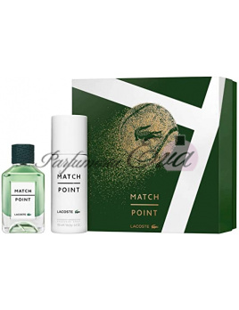 Lacoste Match Point SET: Toaletná voda 100ml + Deodorant 150ml