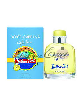 Dolce & Gabbana Light Blue Italian Zest, Toaletná voda 125ml