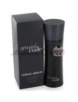 Giorgio Armani Black Code, Toaletná voda 75ml - Tester