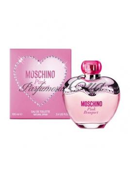 Moschino Pink Bouquet, Toaletná voda 100ml + kozmetická taška