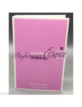 Chanel Chance Eau Vive, Vzorka vone
