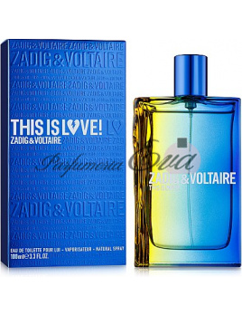 Zadig & Voltaire This is Love! Pour Lui, Toaletná voda 100ml