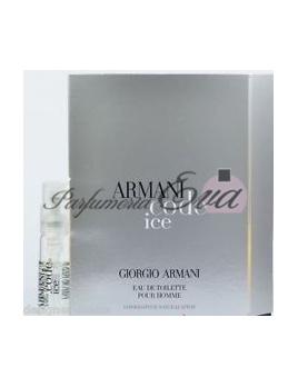 Giorgio Armani Code Ice, vzorka vône