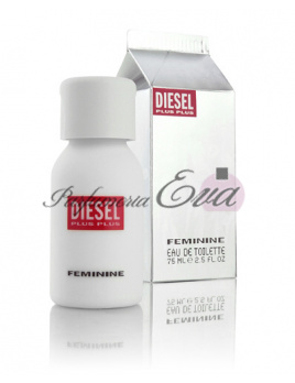 Diesel Plus Plus Feminine, Toaletná voda 75ml