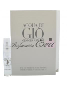 Giorgio Armani Acqua di Gio Pour Homme, vzorka vône