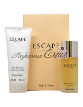 Calvin Klein Escape SET: Toaletná voda 100ml + Balzám po holení 200ml