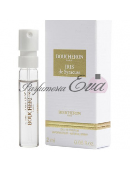 Boucheron Iris Syracuse, Vzorka vône