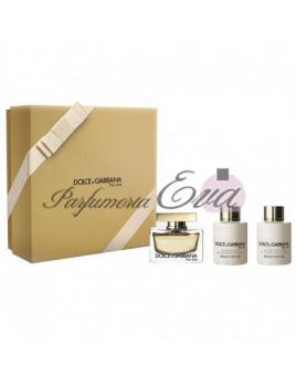 Dolce & Gabbana The One, Edp 75ml + 100ml tělové mléko + 100ml sprchový gel