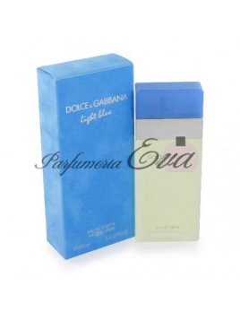 Dolce & Gabbana Light Blue woman, Toaletná voda 50ml